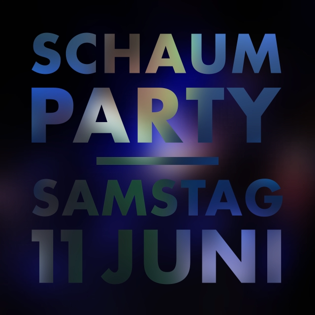 Mr.Da-Nos | Schaumparty